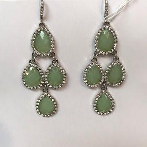Jewelry - Green Chandelier Earrings